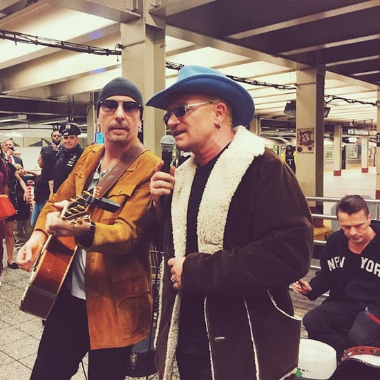 U2 Plays in the New York Subway With Jimmy Fallon