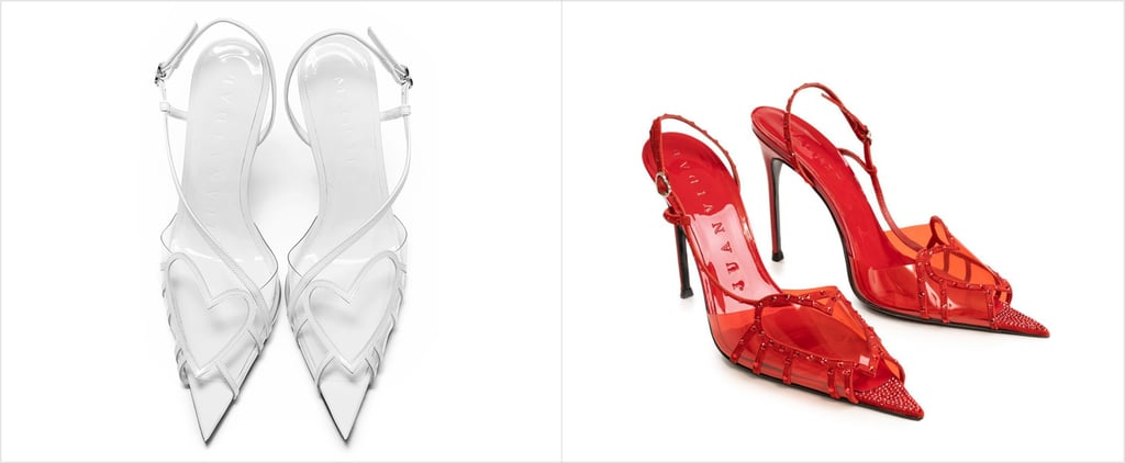 These Heart-Shaped Heels Are Perfect For the Holidays
