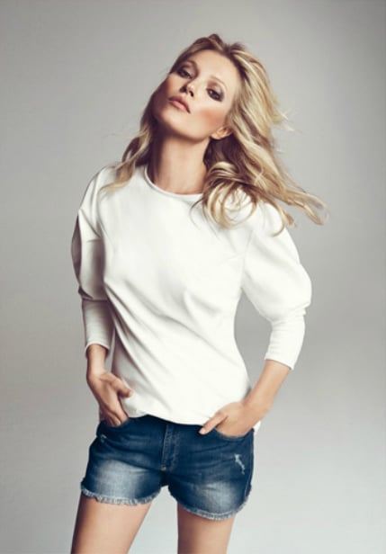 Kate Moss for Mango, for the Third Time: Snoop the Fall
