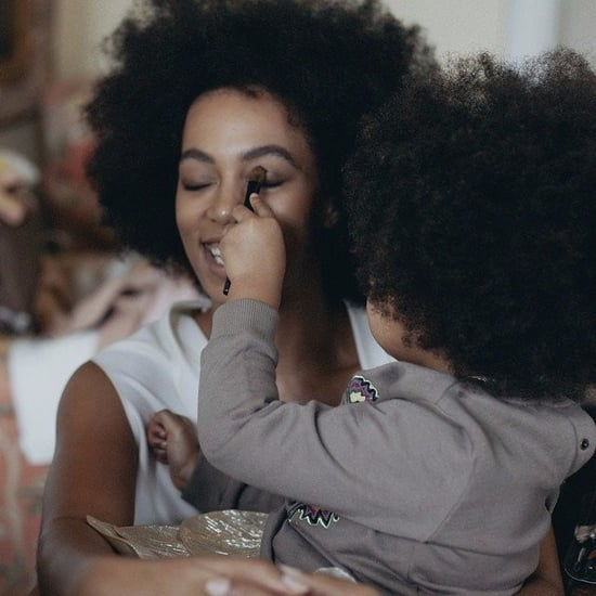 Solange Knowles and Blue Ivy Carter Pictures