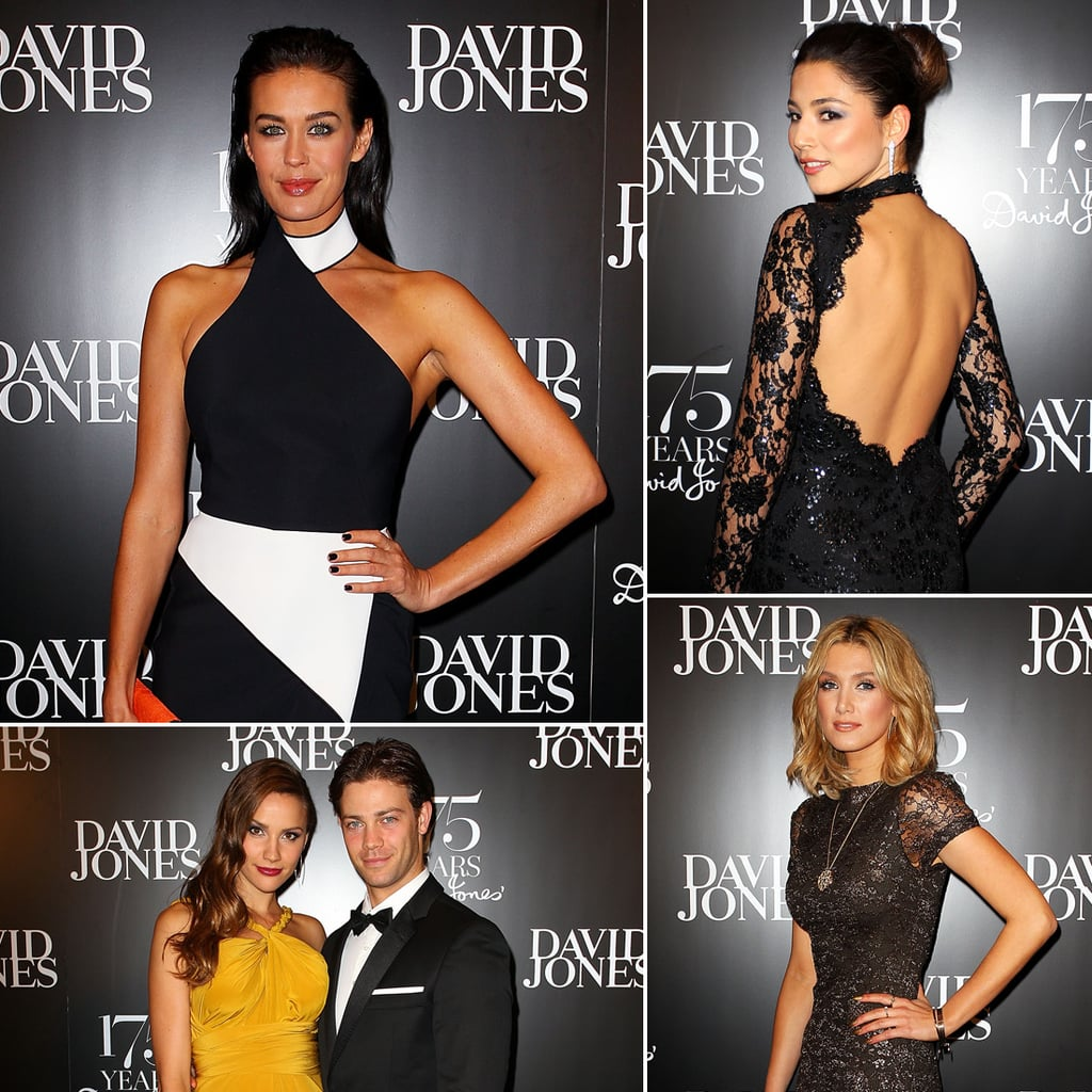 David Jones 175th Birthday Event Celebrity Pictures