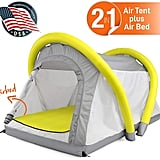 SereneLife Outdoor Inflatable Camping 2 in 1 Airbed Tent