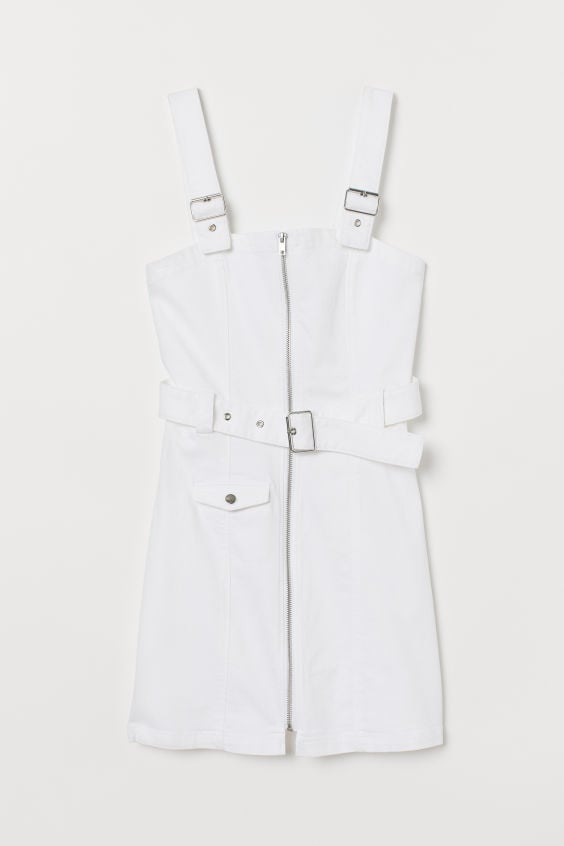 Twill Bib Overall Dress