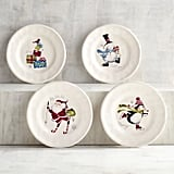 Iconic Christmas Appetizer Plates ($20 for a set of four, originally $25)