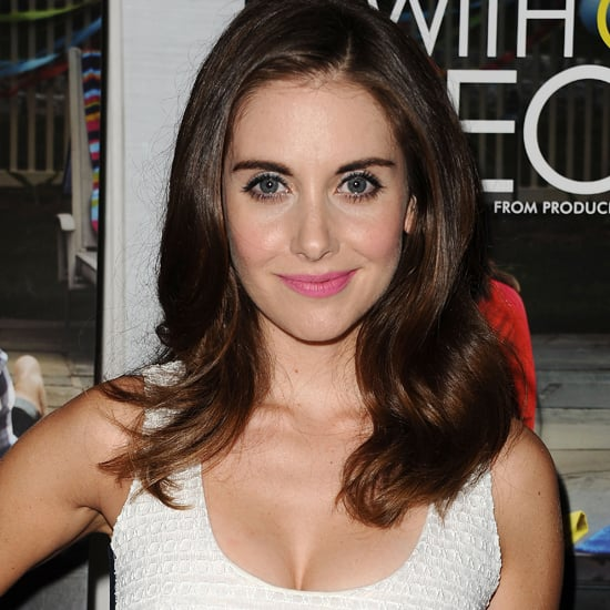 Alison Brie Engagement Ring Pictures