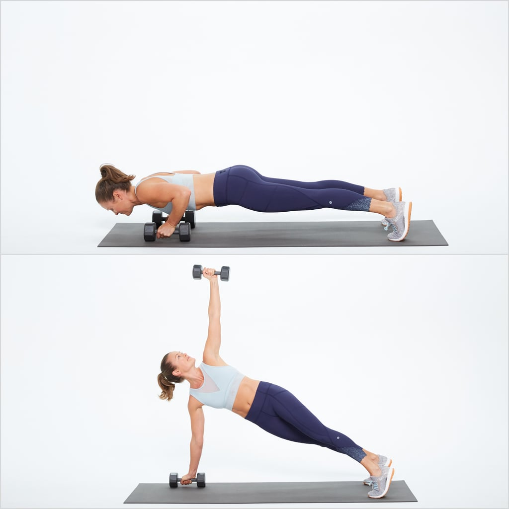 Circuit One: Push-Up and Rotate