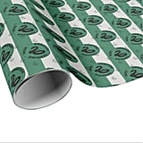 Harry Potter Slytherin House Traits Graphic Wrapping Paper
