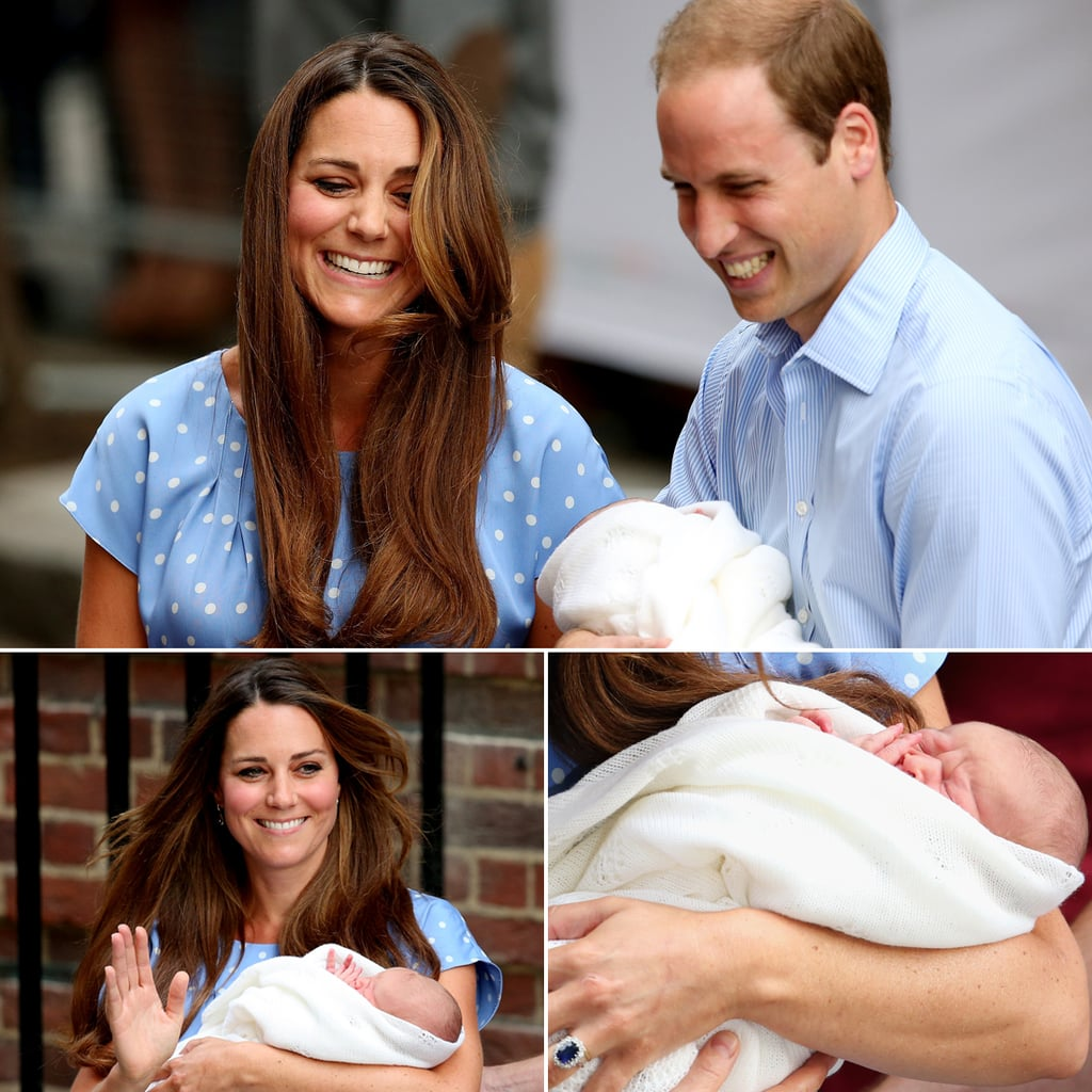 Royal Baby First Pictures With Kate Middleton And William