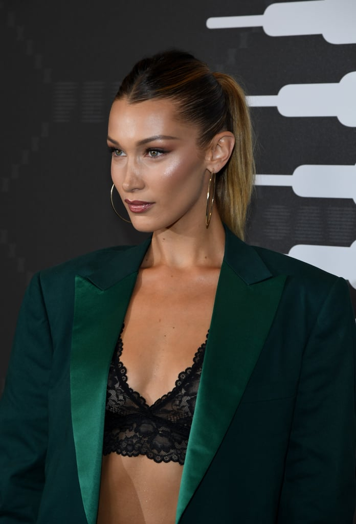 Bella Hadid's Longer Blond Ponytail at the Savage x Fenty Fashion Show
