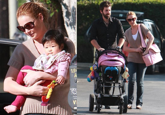 Photos of Katherine Heigl and Josh Kelley With Daughter Naleigh in LA