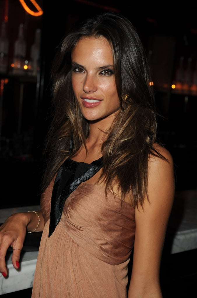 Alessandra Ambrosio was on hand to celebrate the launch.