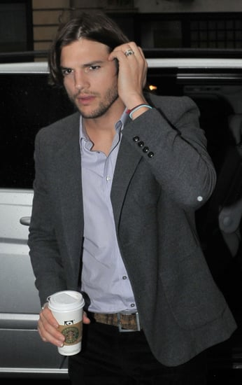 Pictures of Ashton Kutcher at Radio 1 February 2011 For No Strings Attached