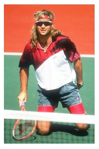 Andre Agassi confesses to wearing a wig during 1990s