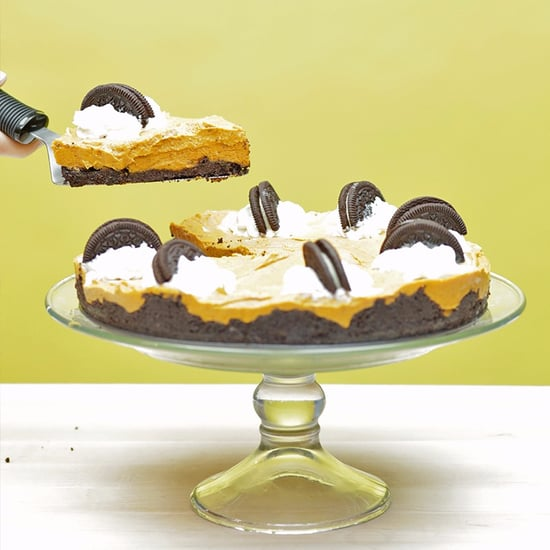 Vegan Pumpkin Spice Oreo Cheesecake