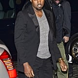 Kim Kardashian and Kanye West Hit the Streets Holding Hands