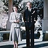 Honeymooning With His New Bride in Malta in 1947