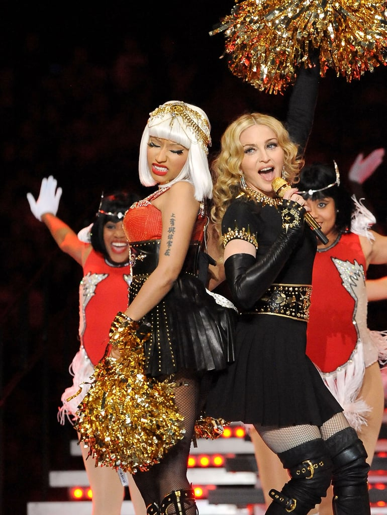 Madonna at Super Bowl