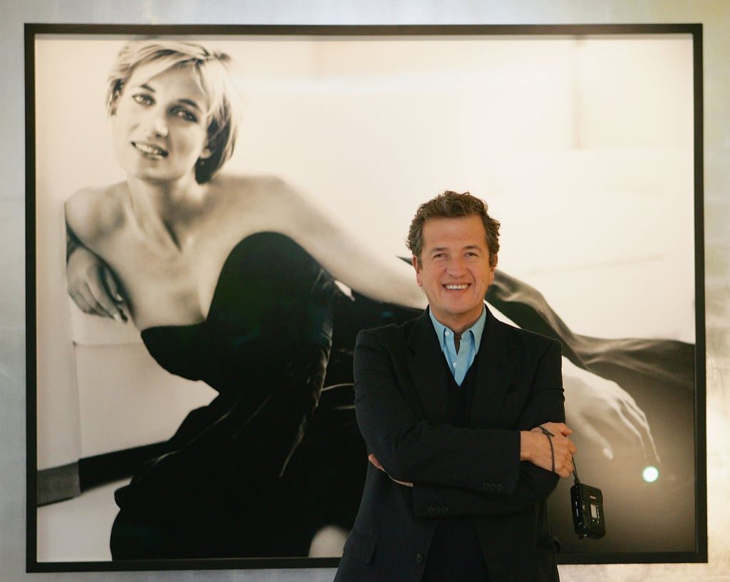 Diana's favorite photographer was Mario Testino, and it was he who created her famous Vanity Fair shoot in 1997. Five years later when pictures were needed to commemorate Harry's 18th birthday, he too turned to the famous snapper — as well as for his 21st birthday portraits.