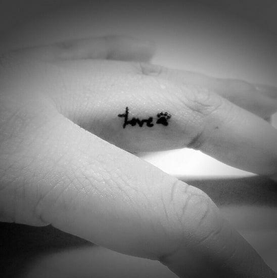 Coole Tattoo-Motive für Finger