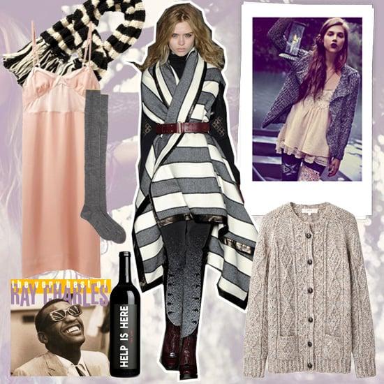 Winter Fashion Mood Board Winter 2012 Popsugar Fashion
