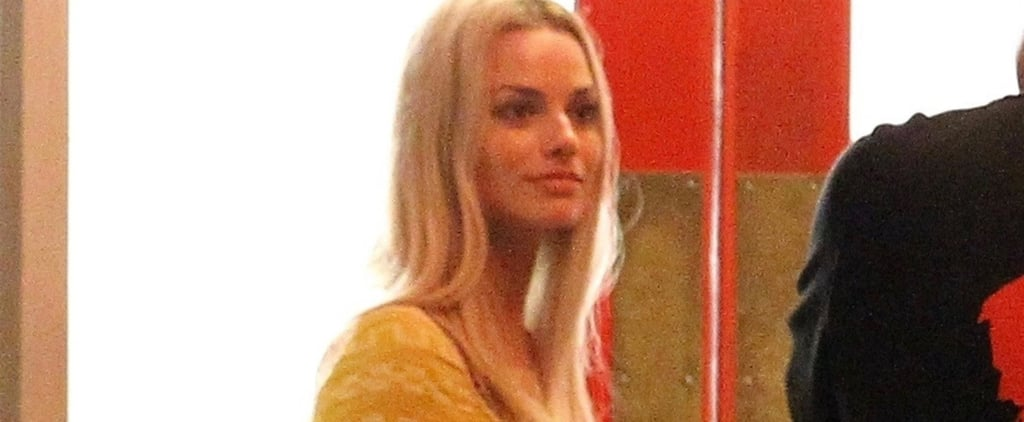 Margot Robbie as Pregnant Sharon Tate Pictures Oct. 2018