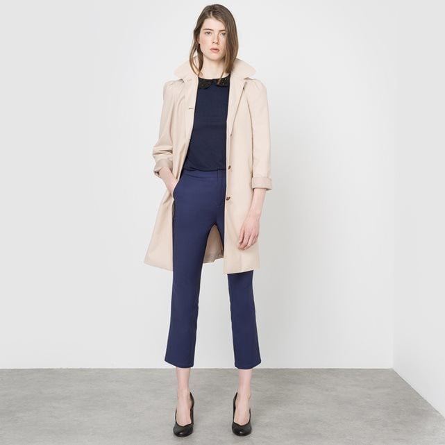 Mademoiselle R Hooded Trench Coat