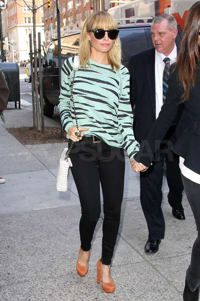 Nicole Richie is in NYC for press appearances.