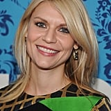 Claire Danes looked happy to attend the premiere of HBO's Girls in NYC.