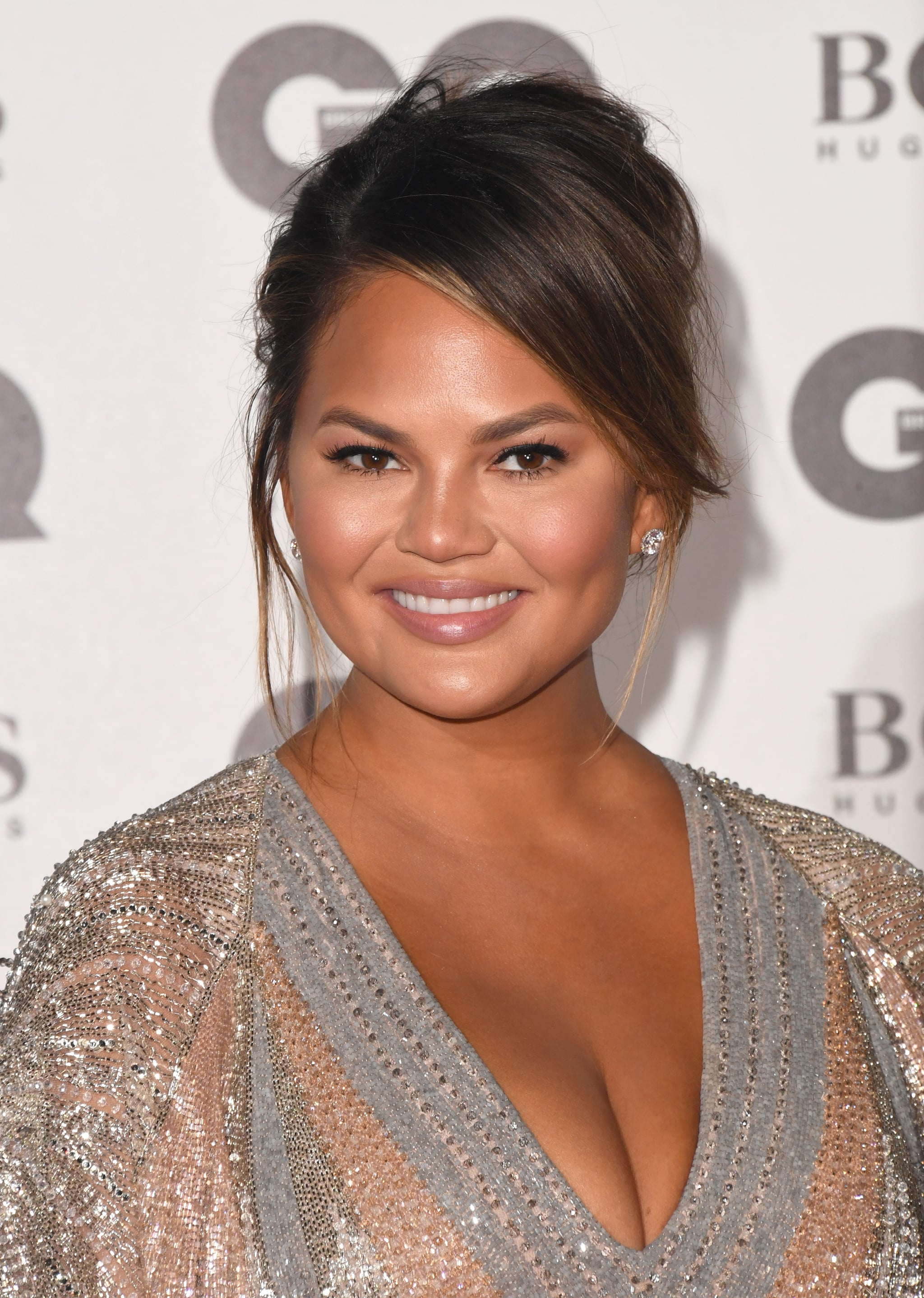 LONDON, ENGLAND - SEPTEMBER 05:  Chrissy Teigen attends the GQ Men of the Year awards at the Tate Modern on September 5, 2018 in London, England.  (Photo by Stuart C. Wilson/Getty Images)