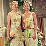 Rachel Looked Totally Elegant in a Bridesmaid Dress