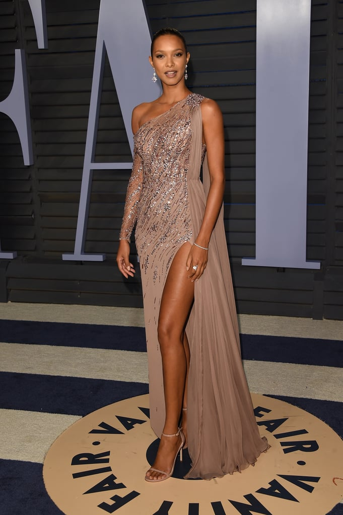 Lais Ribeiro Models At The Oscars After Party 2018