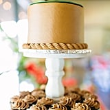 A Shabby-Chic Wooden Cake Stand