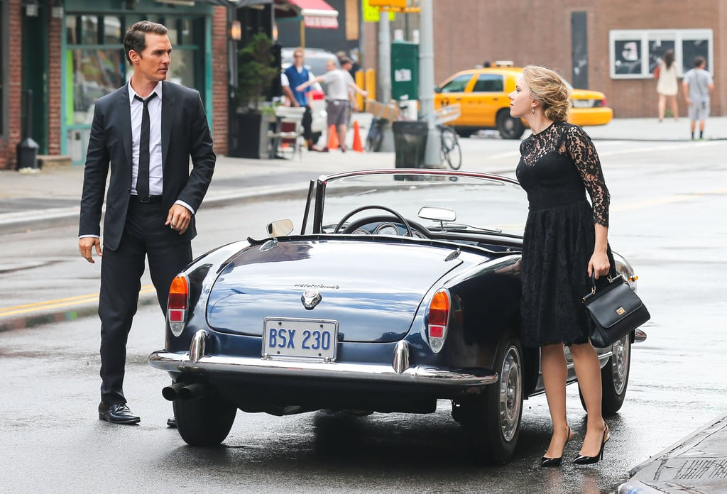 Matthew McConaughey Juggles Scarlett Johansson and Camila Alves on Set