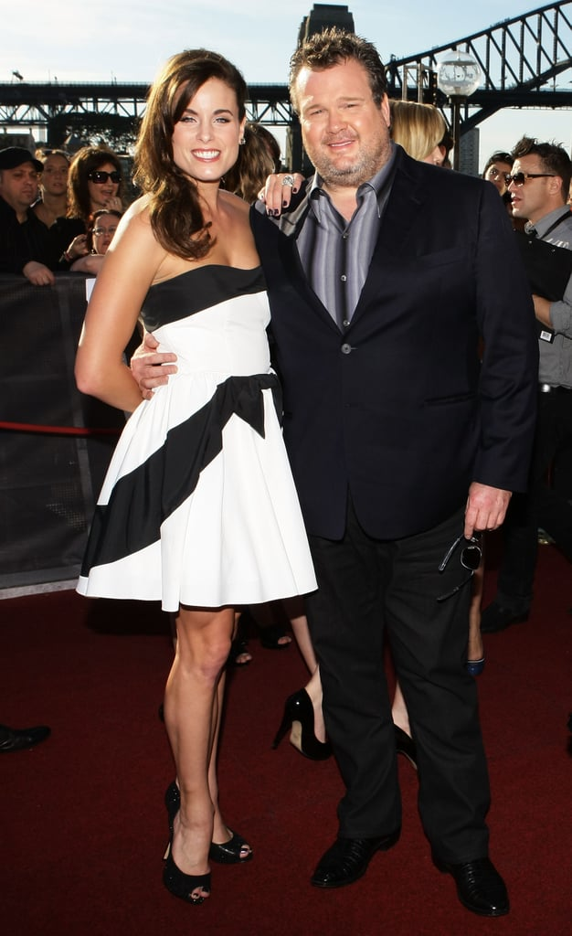 Modern Family's Eric Stonestreet, and friend, added the international celeb factor.