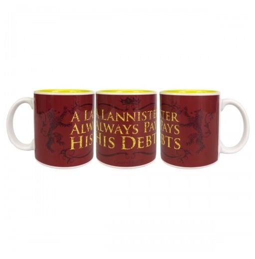A Lannister Always Pays His Debts Mug ($15)