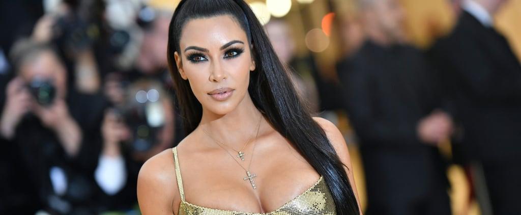 Kim Kardashian Cried at the Met Gala 2013