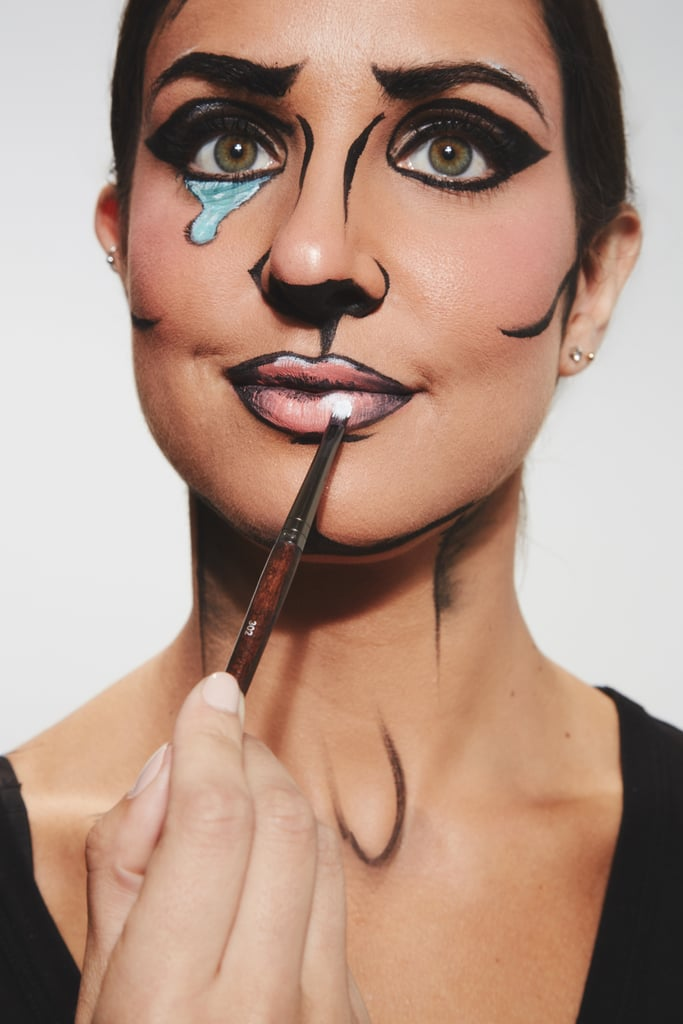 SFX Look 2: How to Make Yourself Look Like a Comic Book Cartoon