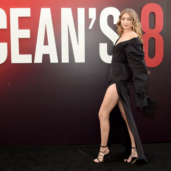 Gigi Hadid's Ocean's 8 Premiere Dress With Slit