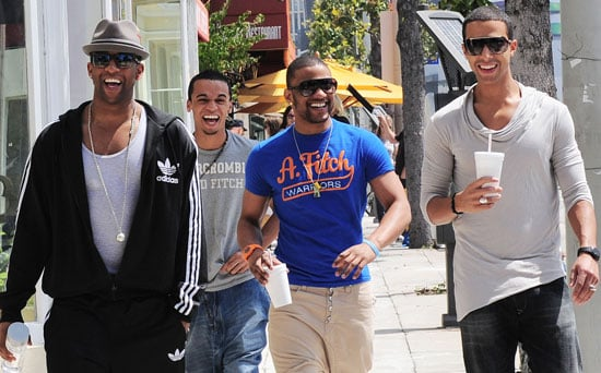 Photos of The X Factor's JLS on the Sunset Strip in Los Angeles as They Try to Break America