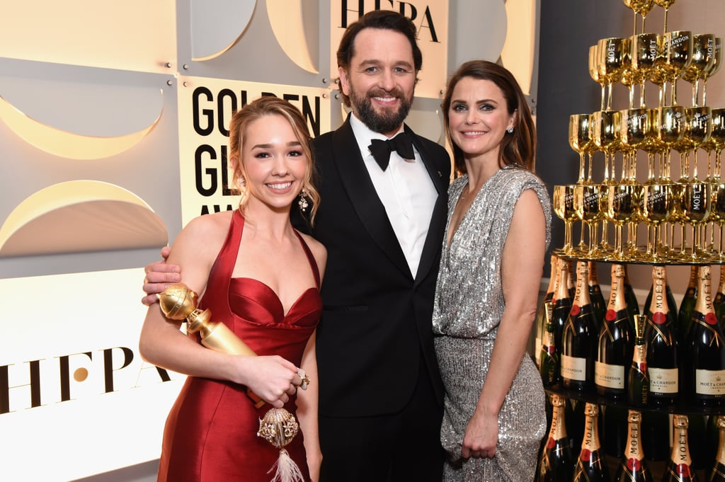 Pictured: Holly Taylor, Matthew Rhys, and Keri Russell