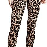 LNA Women's Leopard Zipper Leggings