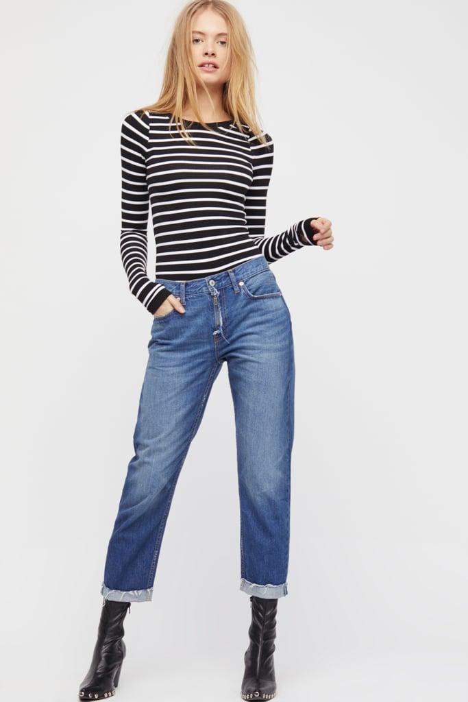 We The Free Rip Zip Boyfriend Jeans