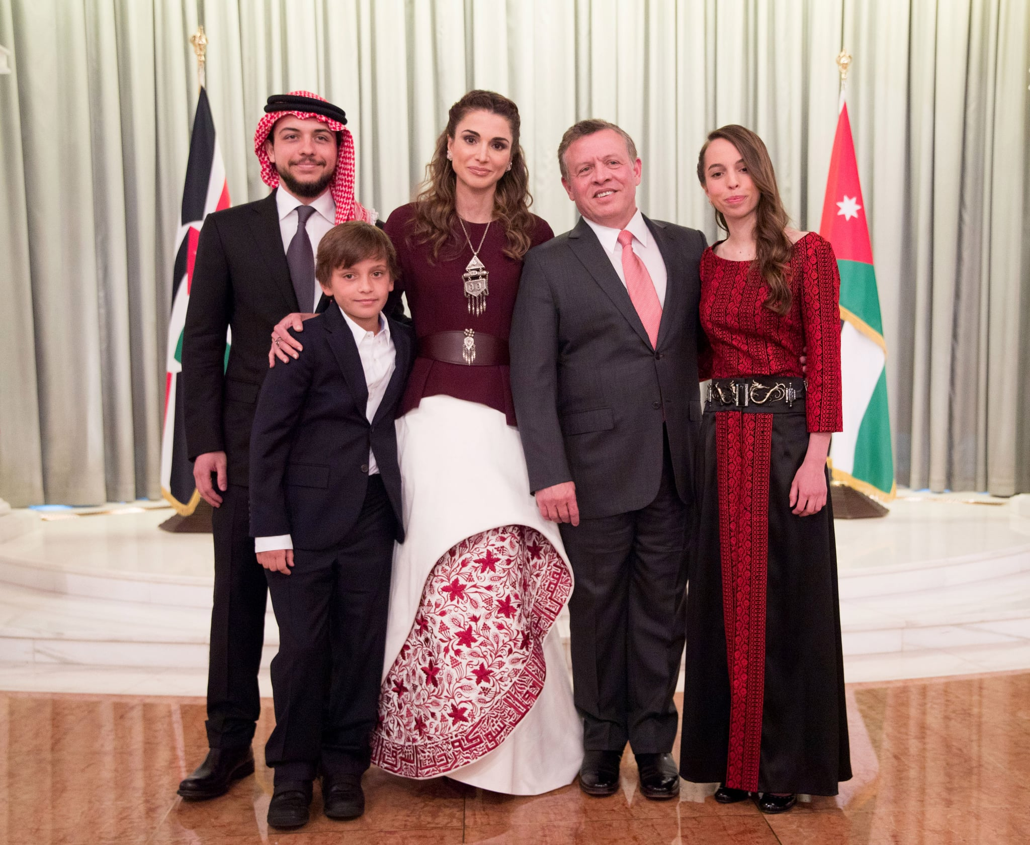 Jordan Royal Family There S No Doubt These Royal Families Make The Best Dressed List For Every Occasion Popsugar Fashion Middle East Photo 4
