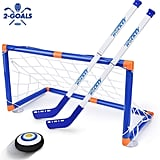 For 7-Year-Olds: Street Walk LED Hockey Hover Set