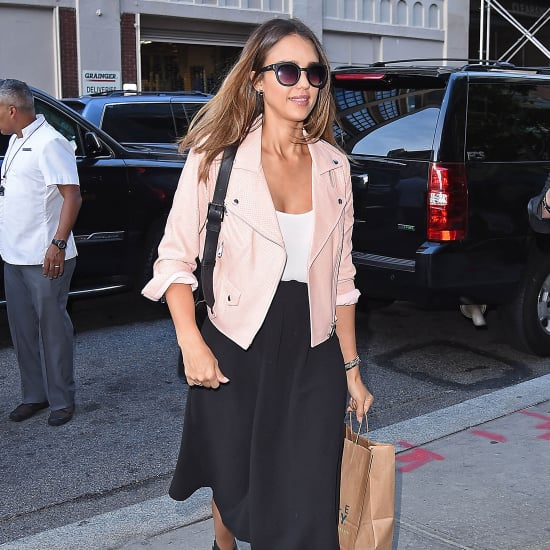 Jessica Alba Just Found the Answer to Transitional Dressing