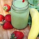 Strawberry Banana Spinach Smoothie
