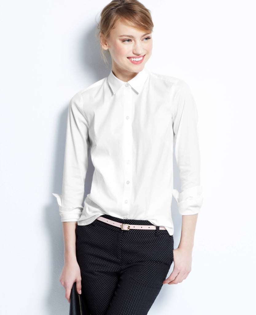 The Crisp White Button-Down