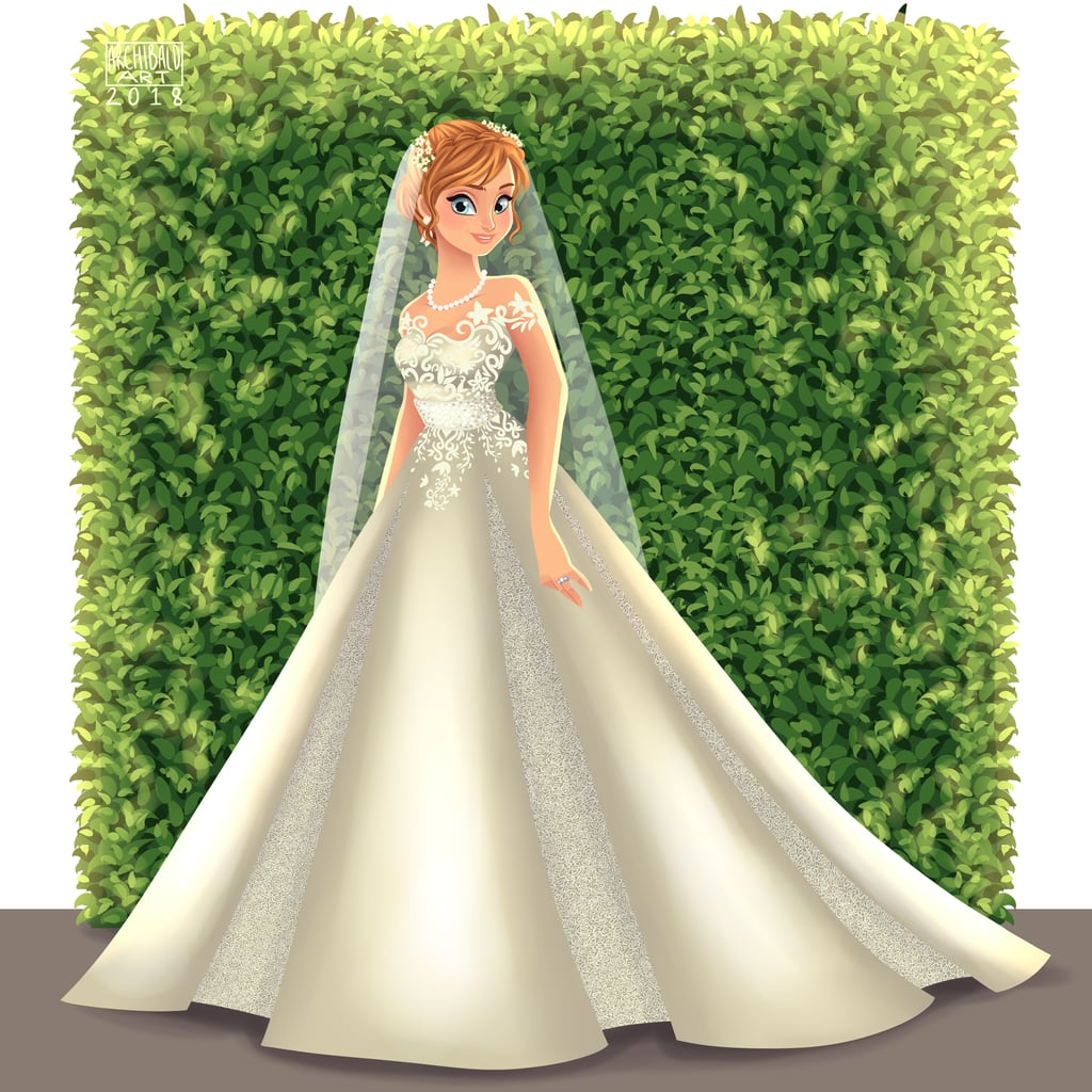 Anna Looks Elegant in a Ballgown-Style Wedding Dress