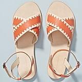 Anthropologie Terri Criss-Cross Sandals