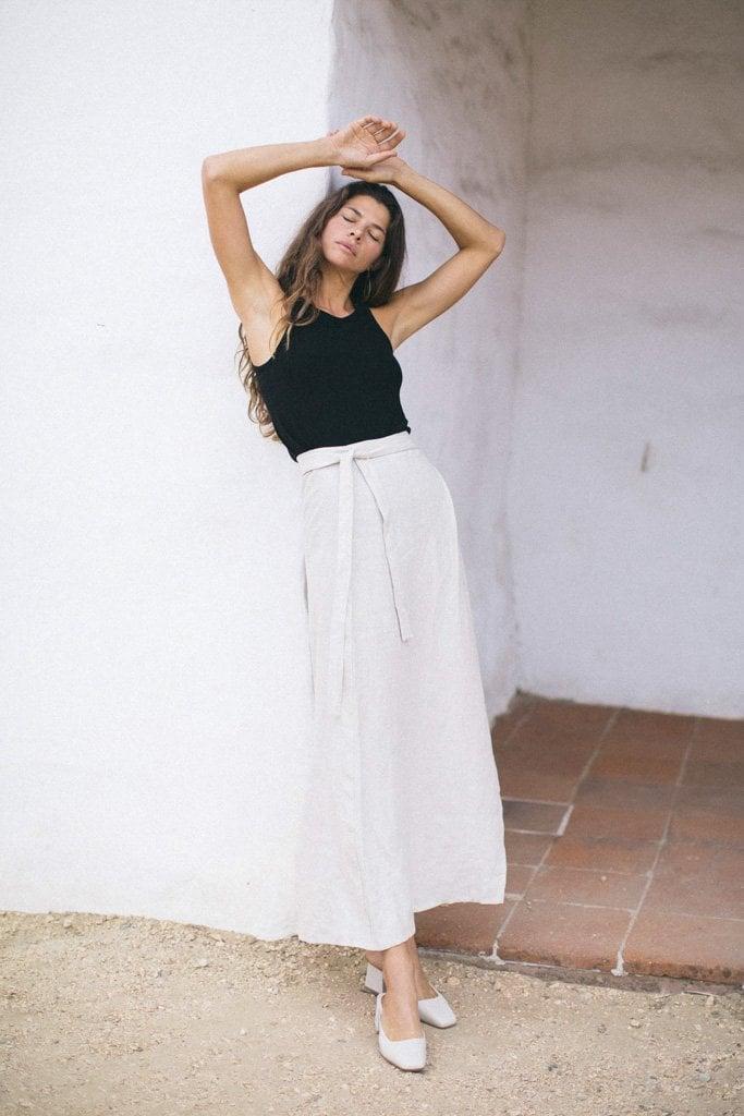 OZMA Venice Wrap Skirt